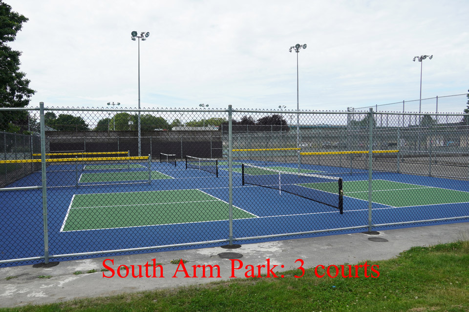 South Arm Park Courts