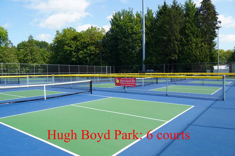Hugh Boyd Park Courts